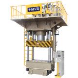 100 toneladas cuatro de la columna de la estructura de prensa de moldeo hidráulica