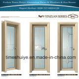 二重緩和されたガラスが付いている内部の浴室のドア(シャワーのドア)