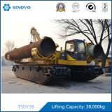 Máquina de la colocación de tubo de la pista mojada del pantano de la bomba de Rexroth del motor de Volvo