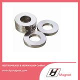 Super starker kundenspezifischer Ring-permanenter gesinterter seltene Massen-Neodym-Magnet der Notwendigkeits-N35-N52 für Motoren