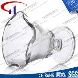 taza caliente del vidrio de pedernal de la venta 190ml para el helado (CHM8391)