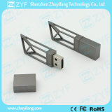 2017 New Dark Grey Frame Design USB Flash Drive (ZYF1748)