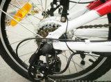 fonte de velocidade 30-50km/H máxima e de alimentação da bateria do lítio que dobra a bicicleta elétrica