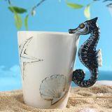 [3د] فنجان حيوانيّ خزفيّة حيوانيّ يد صورة زيتيّة إبريق فنجان