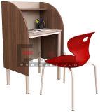 Таблица компьютера офисной мебели деревянная складывая, складной стол офиса