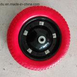 Flach freie feste Gummi PU-Schaumgummi-Räder