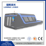 Machine de découpage de grande taille de laser de fibre Lm4020h avec la pleine couverture