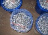 Cadena de acoplamiento galvanizada de alta resistencia del cortocircuito del acero de carbón