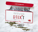 Tipo personalizado Dtox't infusão da morango e da manga do chá do Detox da perda de peso de 14 dias