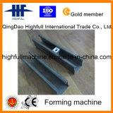 Máquina de formación de acero de C con la conducción de la caja de engranajes