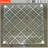 Sicherheits-Muster-Glas-Hotel-Partition, Haus, Aufbau