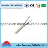 O PVC flexível de Rvvb do fio do fio liso isolou
