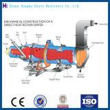 dessiccateur rotatoire de sable de 1.5*15m pour les produits solides