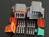 Автомобильные наборы проводки провода соединяя разъем Dt06-8PA Dt 8pole