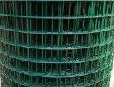 Acoplamiento de alambre soldado cubierto PVC verde