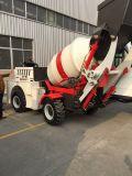 Vrachtwagen 1.0cbm van de concrete Mixer met het Systeem van de volledig Automatische Controle