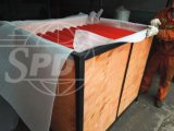 SPDのコンベヤーの鋼鉄ローラー、コンベヤーのローラーセット、ドイツ市場のためのコンベヤーのローラー