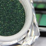 직물 인쇄 및 훈장을%s 녹색 반짝임 분말