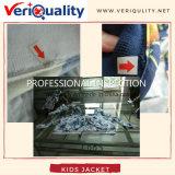 Профессиональное обслуживание осмотра QC для малышей Hove куртка Botaniical