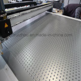 Плоский разделочный стол CNC кожаный для вырезывания образца
