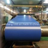 A cor revestida Prepainted a bobina de aço galvanizada de PPGI, bobina dos materiais de construção PPGI, bobina de aço laminada