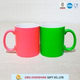 цвет 11oz изменяя керамическую кружку кофеего для мамы папаа