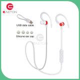 Confortável para desgastar o fone de ouvido do esporte dos auriculares de Bluetooth