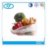 Saco liso plástico do alimento do LDPE do HDPE para a fruta