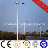 Eficiencia 60W 8m IP66 Luz solar al aire libre del LED Luz solar de la calle