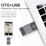 Logotipo personalizado da movimentação do flash do USB de USB2.0 USB3.0 OTG presente relativo à promoção
