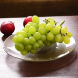 Glasplatte/freier Glasfrucht-großer Teller/Dekoration-Platte/Kerze-Halter rund/Teller-Platte