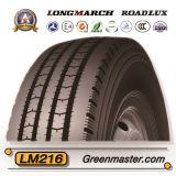 Покрышка 11r22.5 11r24.5 автошины TBR тележки Longmarch Roadlux