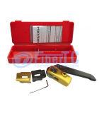 Cortador longitudinal de manipulação seguro e simples Kms-K da talhadeira da bainha de cabo da fibra óptica