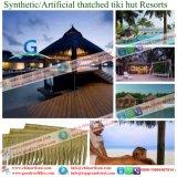 La hutte artificielle de barre de Tiki de chaume de Bali Hawaï a couvert les ressources synthétiques de toit couvert de chaume des Maldives de maison