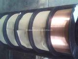 Gaz de CO2 protégeant le fil de soudure de MIG, fil de soudure en acier de cuivre