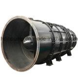 大きい容量水排水のための水平の浸水許容の軸流れポンプ