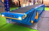 Transporte de caminhão e carregamento do transportador de cinto telescópico automático