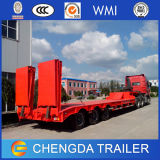 Förderung 60ton Low Bed Semi-Trailer /Tri-Axles Low Bed Trailer Truck