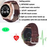 Mtk2502システムが付いているBluetoothのNano防水スマートな腕時計(L5)