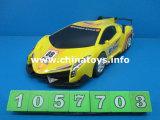 Fricción de juguete de dibujos animados de plástico de coches para niños con En71 (1057706)