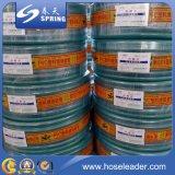 Tubo flessibile di giardino flessibile Braided del PVC della fibra/tubo flessibile dell'acqua