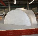 Wind-Turbinenrad-Naben-Form
