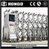 Cancelli d'estensione ritrattabili pieghevoli automatici dell'acciaio inossidabile