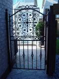 Diseños decorativos de la puerta del hierro labrado/de la puerta del metal