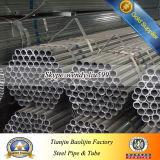 Forma redonda da seção e técnica laminada a alta temperatura tubulação de aço galvanizada