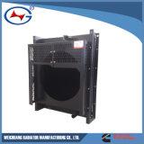 6CTA: Cummins 디젤 엔진 발전기 세트를 위한 냉각 알루미늄 방열기