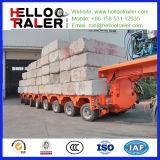 100 - 200トンのマルチ車軸販売のための油圧トラックのトレーラー