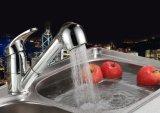 Chrom-keramische Ventil-Küche-Pull-Down Wannen-Messinghahn