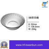 Les la plupart ont fait bon accueil à la vaisselle Kb-Hn0178 de qualité de cuvette en verre