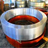 Le four rotatoire chimique de prix usine partie le pneu de boucle et de four rotatoire